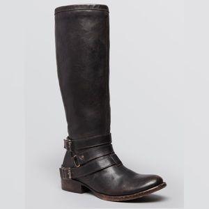FREEBIRD Tall Leather Riding Boots Irish Western 8